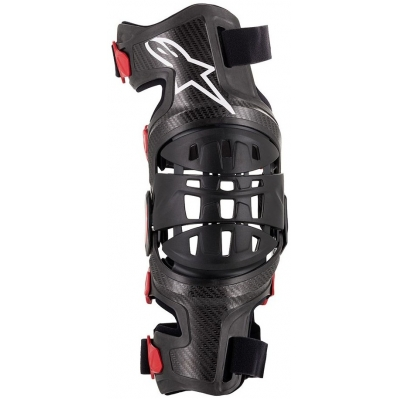 ALPINESTARS ortéza kolene BIONIC-10 Carbon black/red