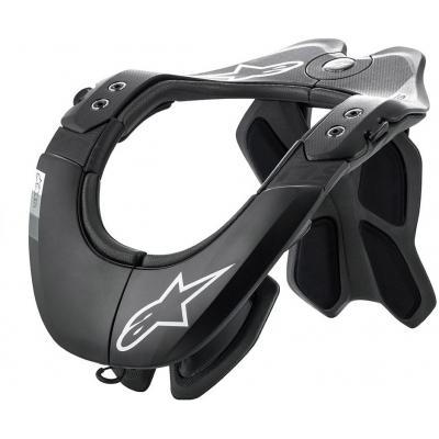 ALPINESTARS chránič krku BNS TECH-2 black/cool grey