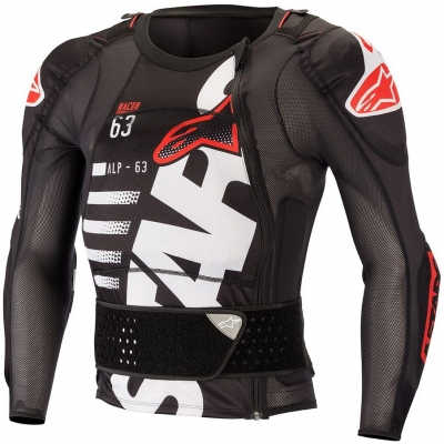 ALPINESTARS chránič těla SEQUENCE PROTECTION black/white/red