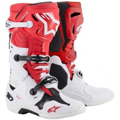 ALPINESTARS boty TECH 10 2019 white/red/black