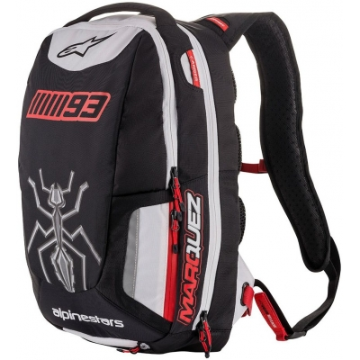 ALPINESTARS batoh JEREZ MM93 black/white/red 25L
