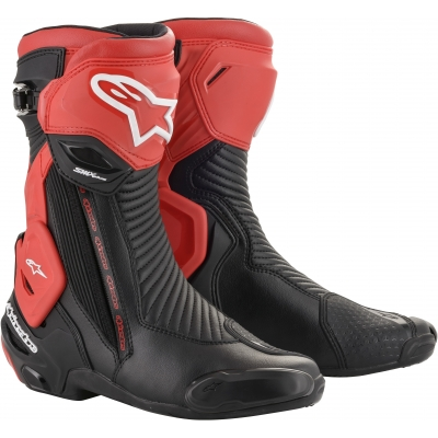 ALPINESTARS boty SMX PLUS V2 black/red