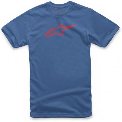 ALPINESTARS triko AGELESS royal blue/red