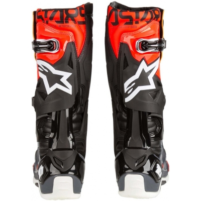 ALPINESTARS boty TECH 10 2020 black/grey/orange/fluo red