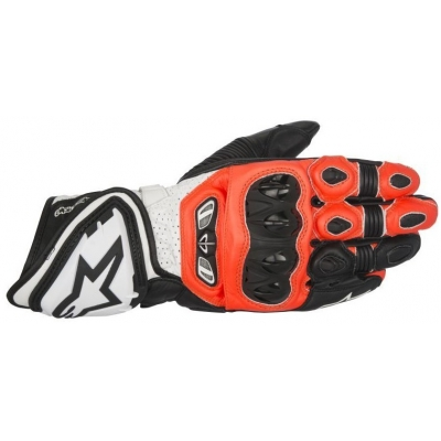 ALPINESTARS rukavice GP TECH black/fluo red/white