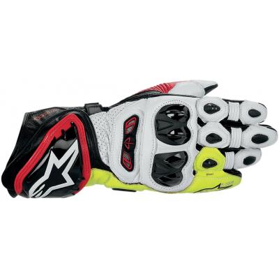 ALPINESTARS rukavice GP TECH black/red/fluo yellow