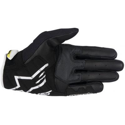 ALPINESTARS rukavice SMX-2 AIR CARBON V2 black/white/fluo yellow