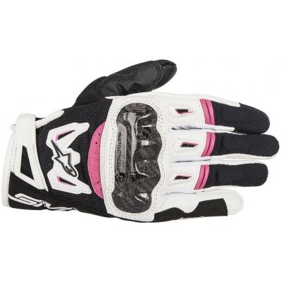 ALPINESTARS rukavice STELLA SMX-2 AIR CARBON V2 black/white/fuchsia