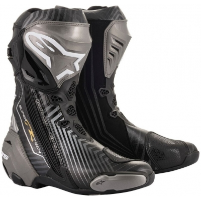 ALPINESTARS boty SUPERTECH R black/gray/gold