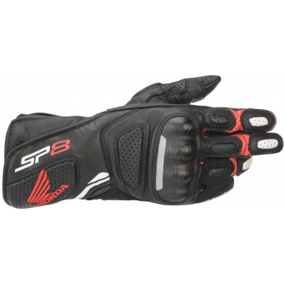 ALPINESTARS rukavice SP-8 Honda black / white / red