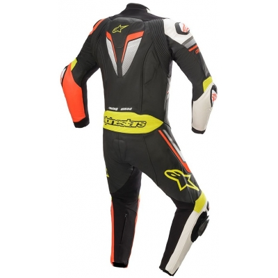 ALPINESTARS kombinéza GP PLUS V3 1-dielna black/red fluo/white