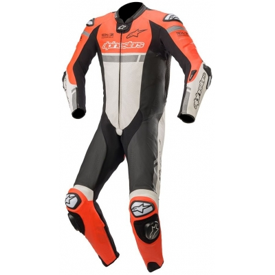 ALPINESTARS kombinéza MISSILE IGNITION TECH-AIR 1-dielna red fluo / White / Black