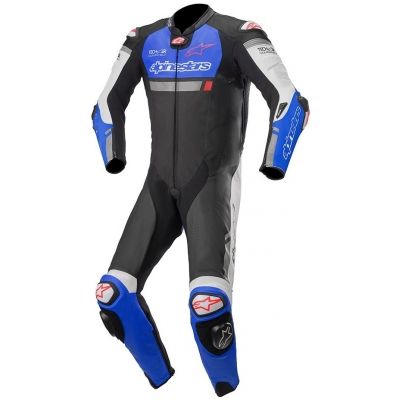 ALPINESTARS kombinéza MISSILE IGNITION TECH-AIR 1-dielna black / blue / white