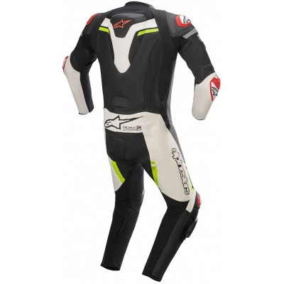 ALPINESTARS kombinéza MISSILE IGNITION TECH-AIR 1-dielna Black / White / yellow fluo