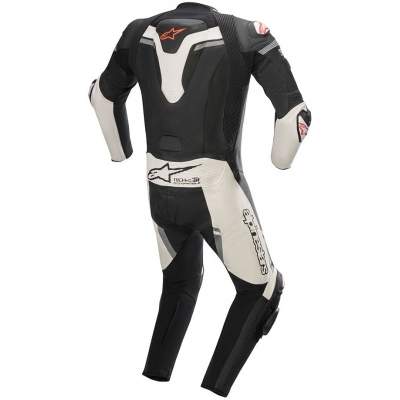 ALPINESTARS kombinéza MISSILE IGNITION TECH-AIR 1-dielna black / white / red fluo