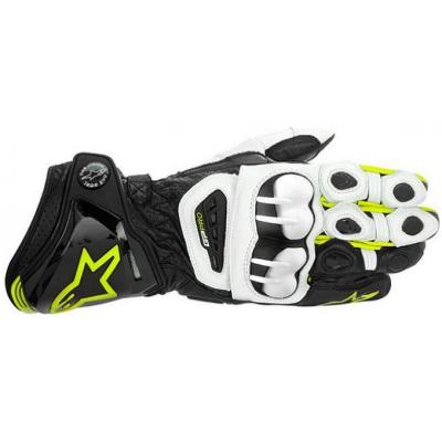 ALPINESTARS rukavice GP PRO pánské black/white/fluo yellow