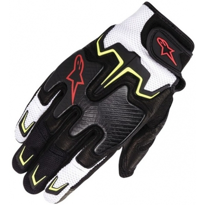 ALPINESTARS rukavice FIGHTER AIR black/white/fluo yellow/red