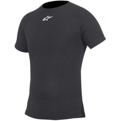 ALPINESTARS triko SUMMER TECH PERFORMANCE Krátký rukáv black