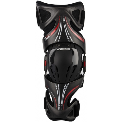 ALPINESTARS ortéza FLUID TECH CARBON Left antracite/red/wht
