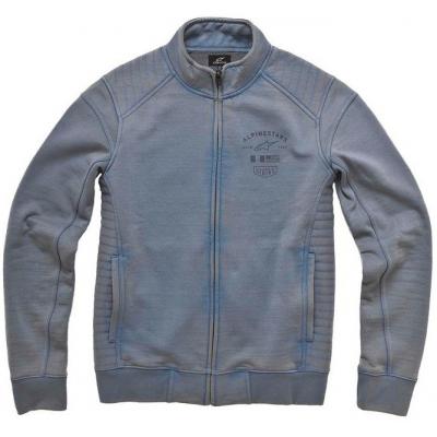 ALPINESTARS mikina CERTIFIED grey/blue