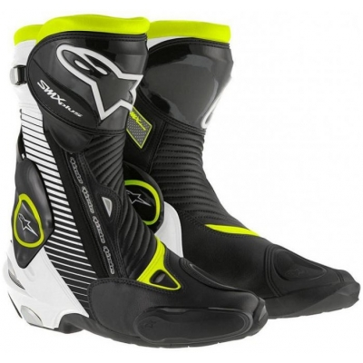 ALPINESTARS boty SMX PLUS black/white/fluo yellow