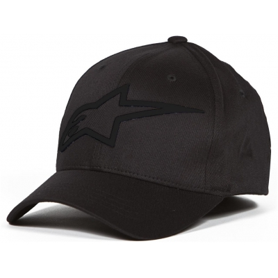 ALPINESTARS kšiltovka LOGO ASTAR black/black