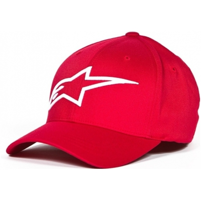 ALPINESTARS kšiltovka LOGO ASTAR red/white