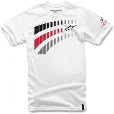 ALPINESTARS tričko TELEMETRICS white