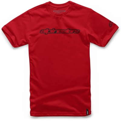 ALPINESTARS triko WORDMARK red