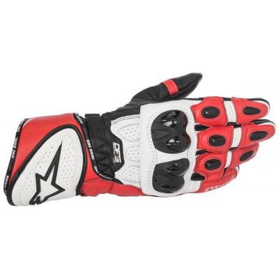 ALPINESTARS rukavice GP PLUS R black/white/red
