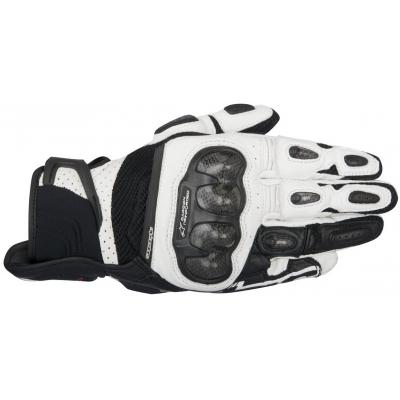 ALPINESTARS rukavice SP X AIR CARBON black / white