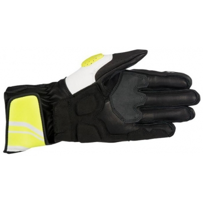 ALPINESTARS rukavice SP-8 v2 Black / White / yellow fluo