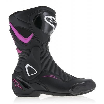 ALPINESTARS topánky STELLA SMX-6 v2 dámske black / fuchsia / white