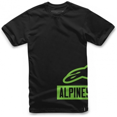 ALPINESTARS triko TANK black/green