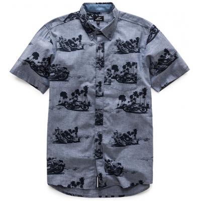 ALPINESTARS košeľa PARADISE SS blue