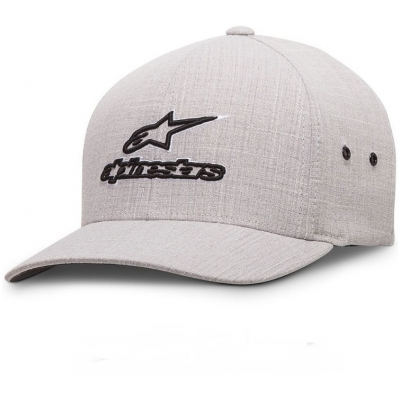 ALPINESTARS kšiltovka BARNEY CURVE light grey
