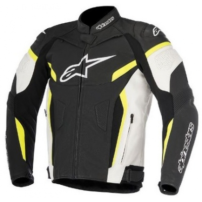 ALPINESTARS bunda GP PLUS R black/white/yellow fluo