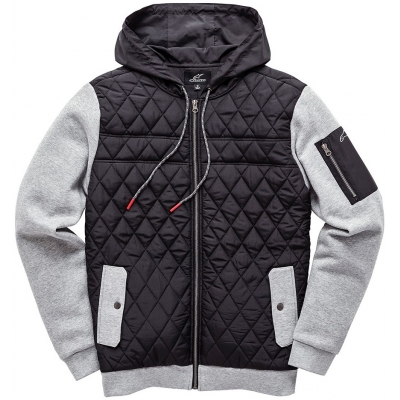 ALPINESTARS mikina BRIGHTON FLEECE black