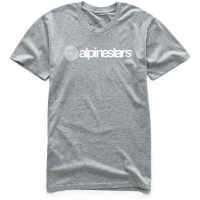 ALPINESTARS triko ORIGINAL grey heather
