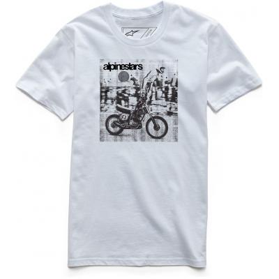 ALPINESTARS tričko STUNT white