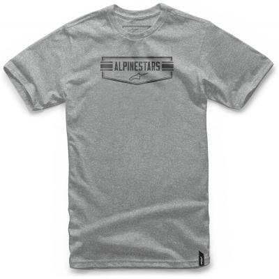 ALPINESTARS triko EMBELATIC grey heather