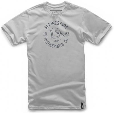 ALPINESTARS tričko WINGED silver
