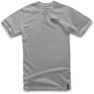 ALPINESTARS triko PIKE grey heather