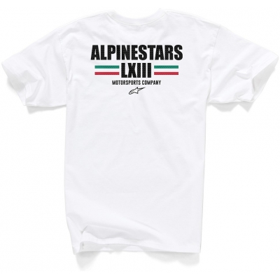 ALPINESTARS triko FINISH II white