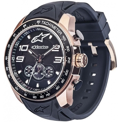 ALPINESTARS hodinky TECH CHRONO two tones rose/black/steel