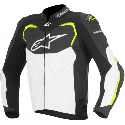ALPINESTARS bunda GP PRO black/white/yellow fluo