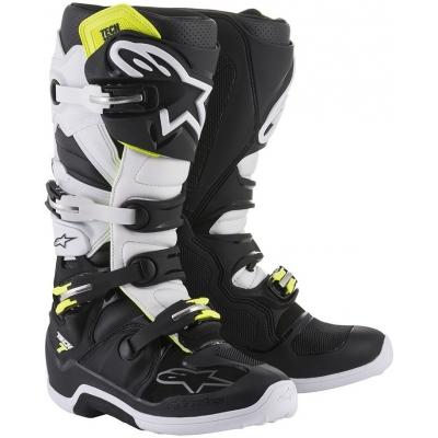 ALPINESTARS boty TECH 7 black/white