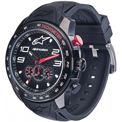 ALPINESTARS hodinky TECH CHRONO black/black/black