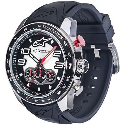 ALPINESTARS hodinky TECH CHRONO steel/black/steel