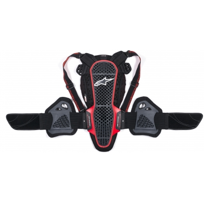 ALPINESTARS chránič chrbtice NUCLEON KR-3 smoke black / red